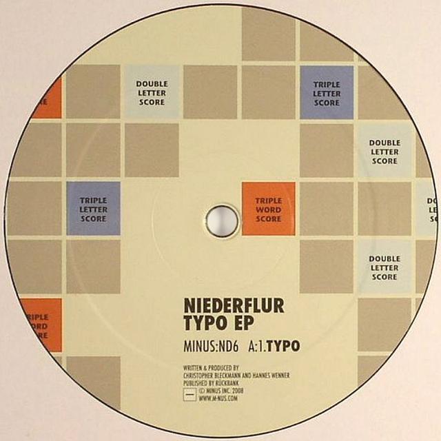 Niederflur TYPO (EP) Vinyl Record