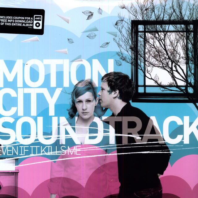 Motion City Soundtrack EVEN IF IT KILLS ME Vinyl Record