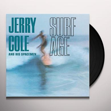 Jerry Cole & His Spacemen SURF AGE Vinyl Record