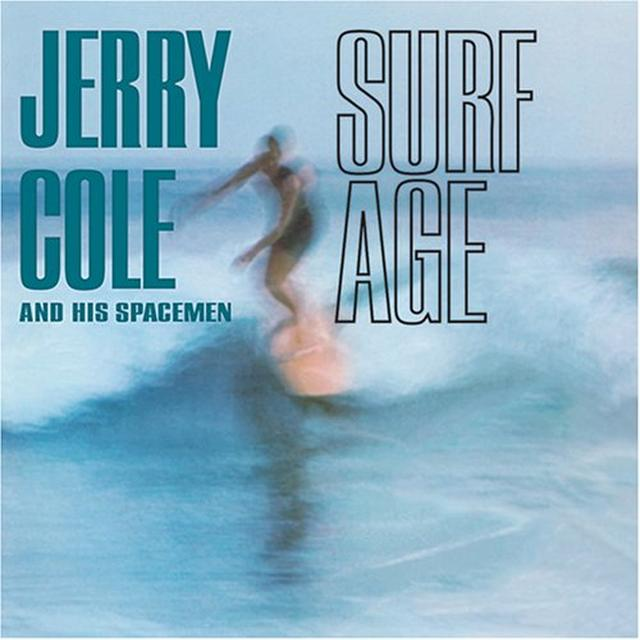 Jerry Cole & His Spacemen SURF AGE Vinyl Record - Limited Edition