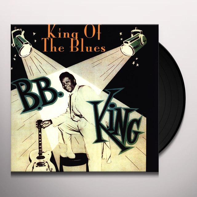 B.B. King KING OF THE BLUES Vinyl Record - Limited Edition
