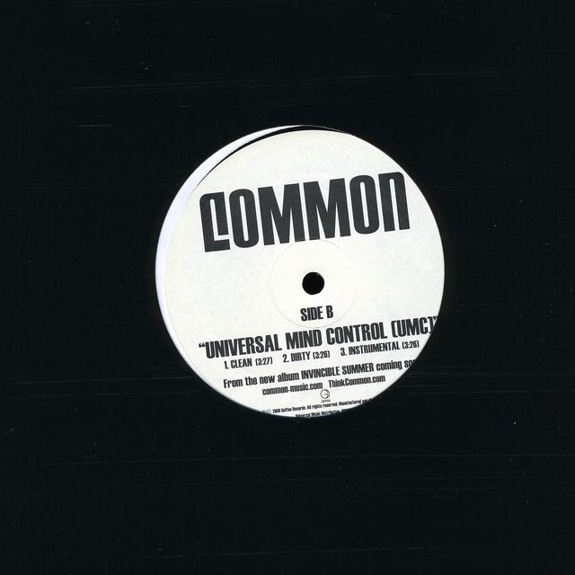 Common ANNOUNCEMENT (X3) / UNIVERSAL MIND CONTROL (X3) Vinyl Record