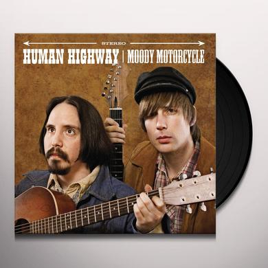 Human Highway MOODY MOTORCYCLE Vinyl Record