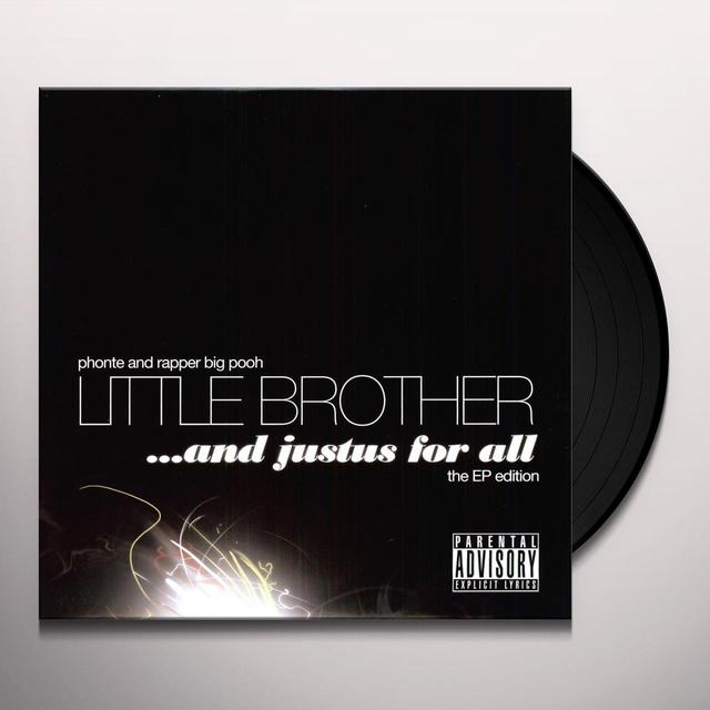 Little Brother JUSTUS FOR ALL (EP) Vinyl Record