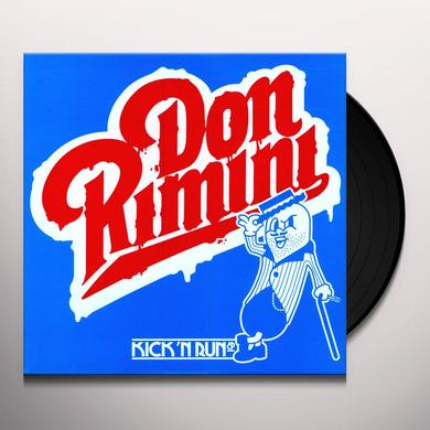 Don Rimini KICK N RUN (EP) Vinyl Record
