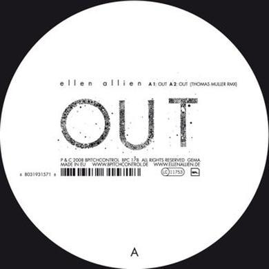 Ellen Allien OUT REMIXES Vinyl Record