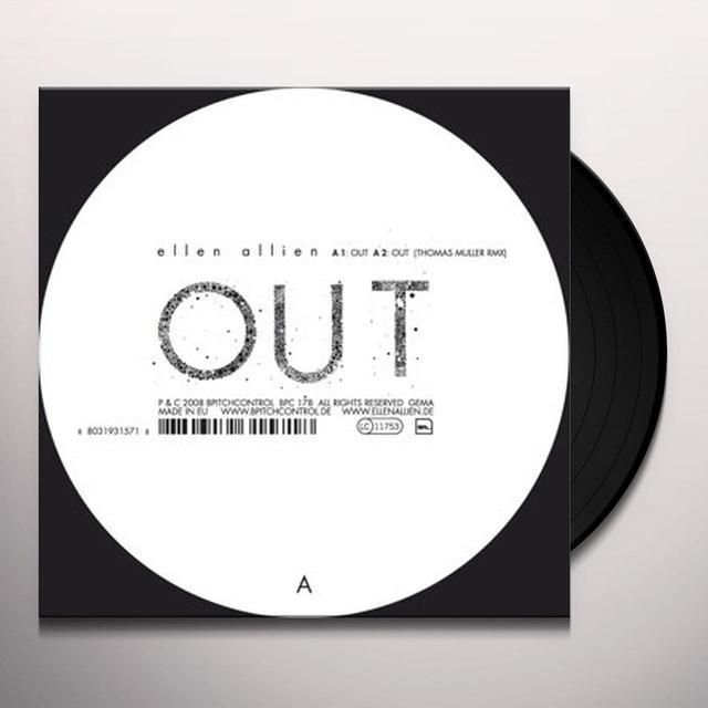 Ellen Allien OUT REMIXES (EP) Vinyl Record