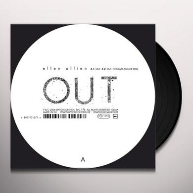 Ellen Allien OUT REMIXES (EP) Vinyl Record