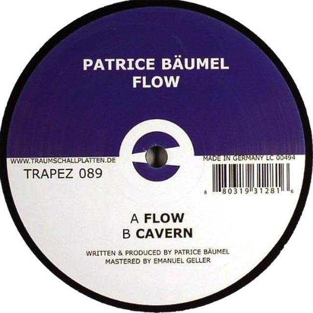Patrice Bäumel FLOW (EP) Vinyl Record