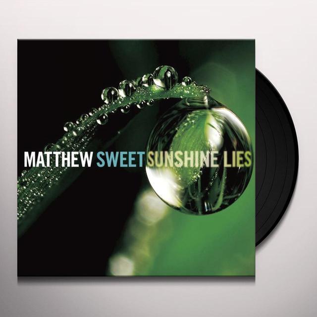 Matthew Sweet SUNSHINE LIES Vinyl Record - w/CD