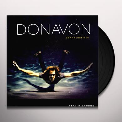 Donavon Frankenreiter PASS IT AROUND Vinyl Record