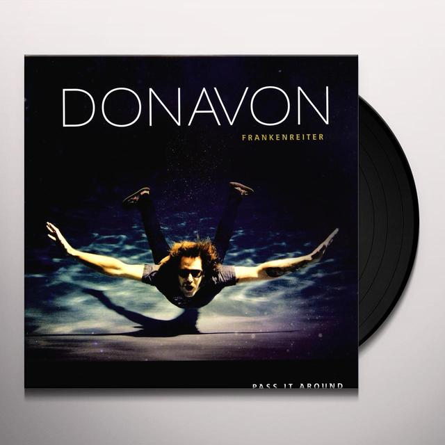 Donavon Frankenreiter PASS IT AROUND Vinyl Record