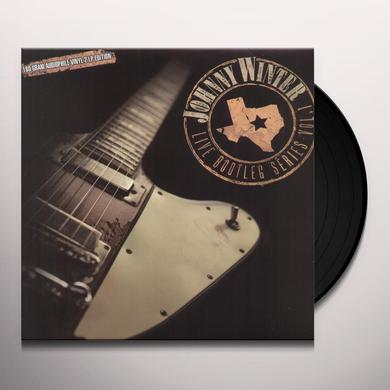 Johnny Winter LIVE BOOTLEG SERIES 1 Vinyl Record