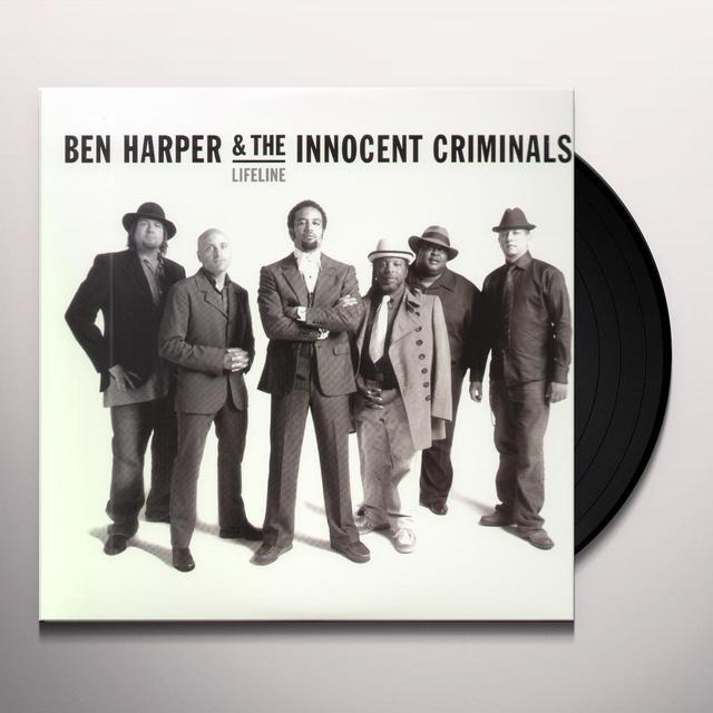 Ben / Innocent Criminals Harper LIFELINE Vinyl Record
