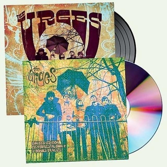 Urges PSYCH WARD (BONUS CD) Vinyl Record