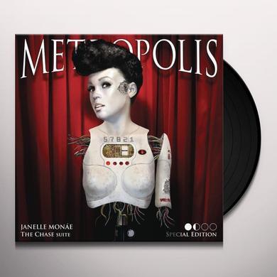 Janelle Monae METROPOLIS: THE CHASE SUITE (BONUS CD) Vinyl Record - Special Edition