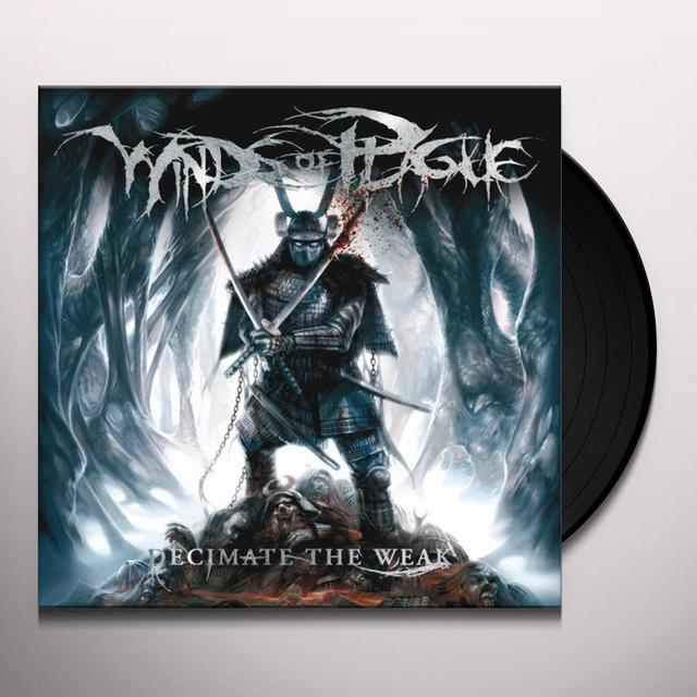Winds Of Plague DECIMATE THE WEAK Vinyl Record - Limited Edition