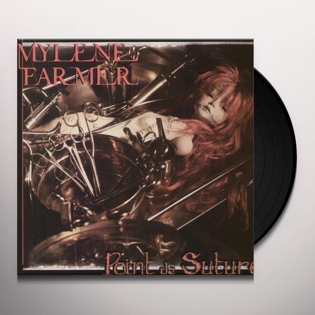 Mylène Farmer POINT DE SUTURE Vinyl Record - Limited Edition