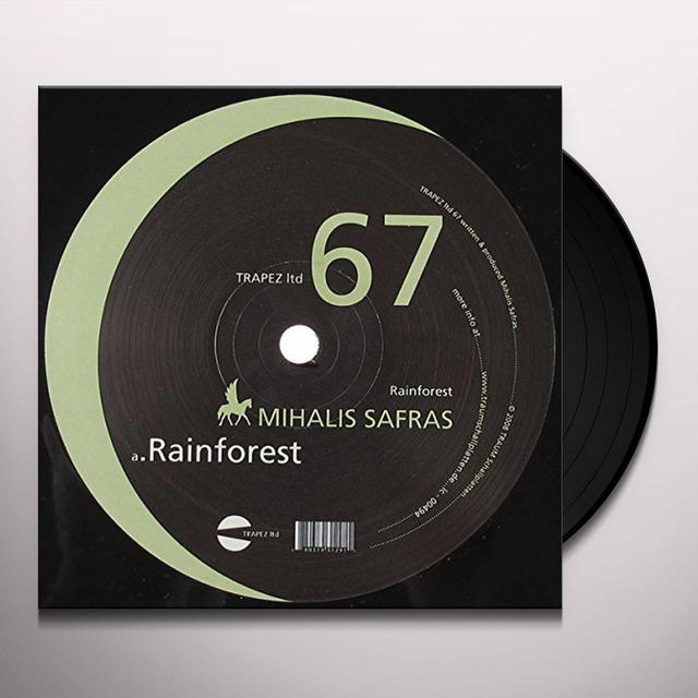 Mihalis Safras RAINFOREST Vinyl Record