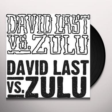 David Vs Zulu Last MUSICALLY MASSIVE Vinyl Record