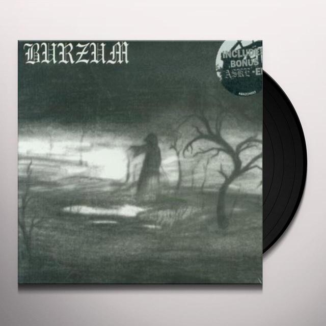 BURZUM / ASKE Vinyl Record - Collector's Edition, Limited Edition, 180 Gram Pressing