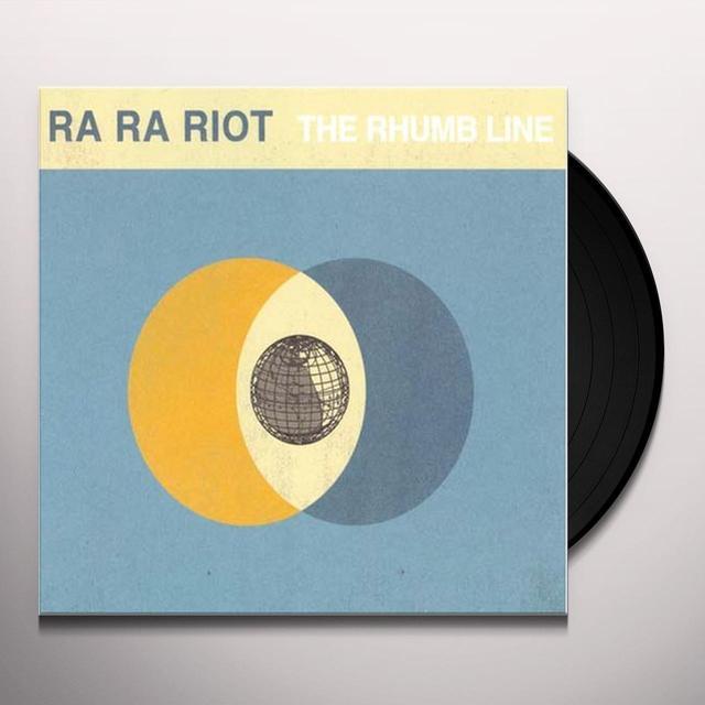 Ra Ra Riot RHUMB LINE Vinyl Record