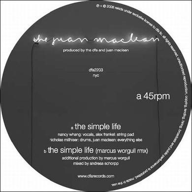 Juan Maclean SIMPLE LIFE (Vinyl)