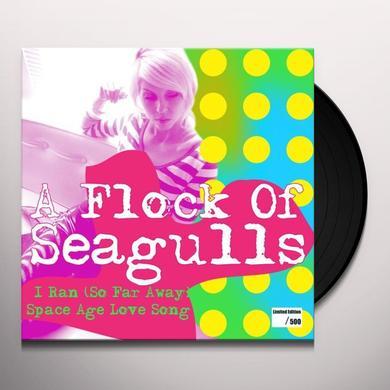 Flock Of Seagulls I RAN (SO FAR AWAY) / SPACE AGE LOVE SONG Vinyl Record