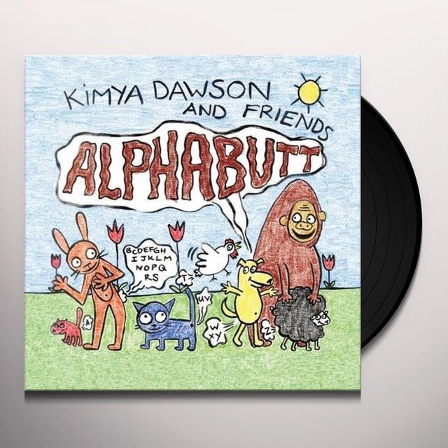Kimya Dawson ALPHABUTT Vinyl Record