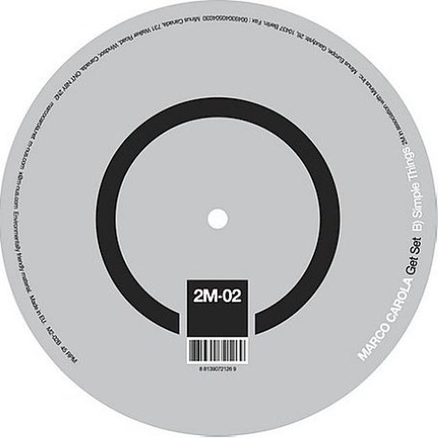 Marco Carola GET SET Vinyl Record