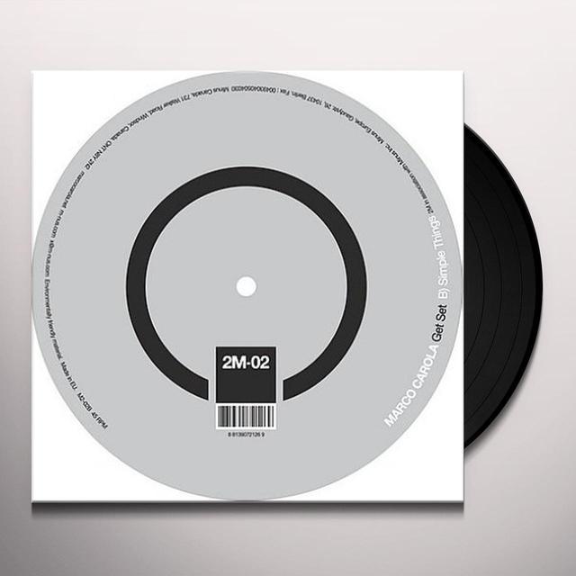 Marco Carola GET SET (EP) Vinyl Record