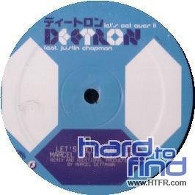 Deetron LETS GET OVER IT Vinyl Record
