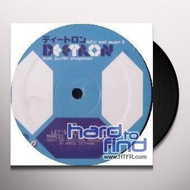 Deetron LETS GET OVER IT (EP) Vinyl Record
