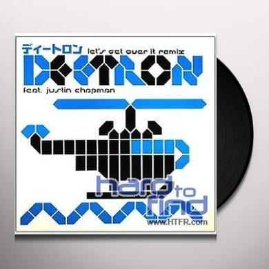 Deetron LETS GET OVER IT REMIX Vinyl Record