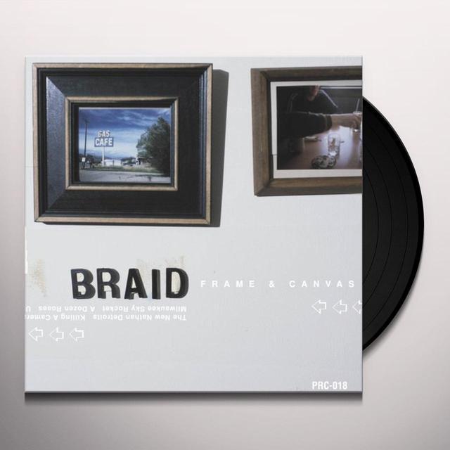 Braid FRAME & CANVAS Vinyl Record - 180 Gram Pressing