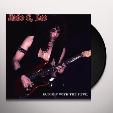 Jake E Lee RUNNIN WITH THE DEVIL Vinyl Record