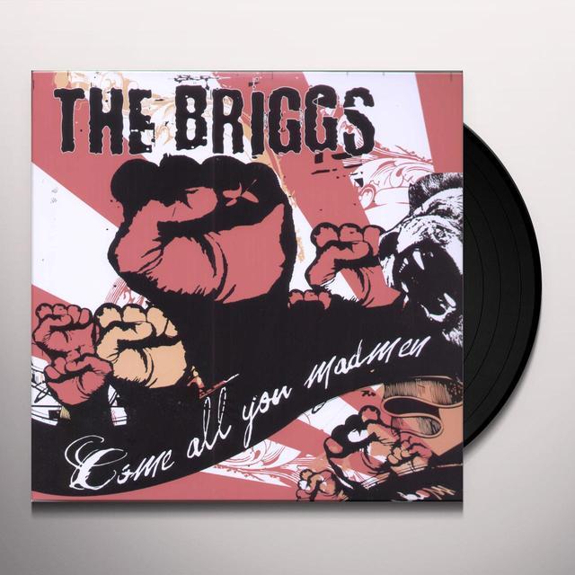 Briggs COME ALL YOU MADMEN Vinyl Record