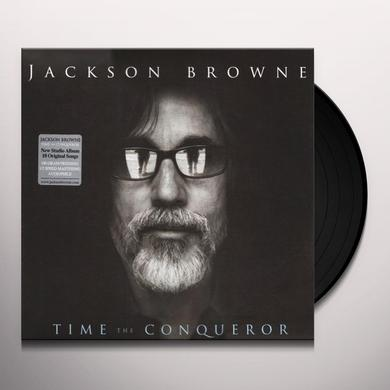 Jackson Browne TIME THE CONQUEROR Vinyl Record