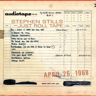 Stephen Stills JUST ROLL TAPE: APRIL 26TH 1968 Vinyl Record