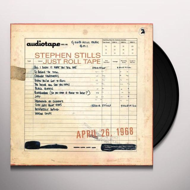 Stephen Stills JUST ROLL TAPE: APRIL 26TH 1968 Vinyl Record