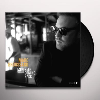 Marc Broussard KEEP COMING BACK Vinyl Record