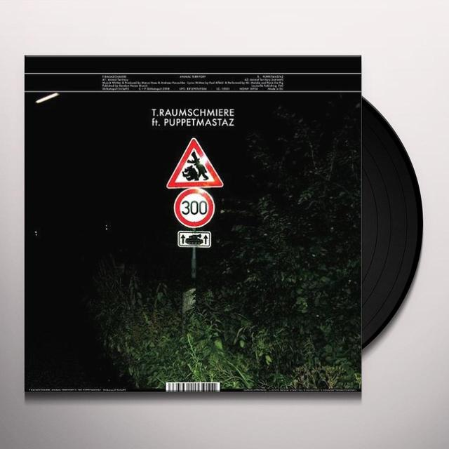 T Raumschmiere ANIMAL TERRITORY / BRENNER (EP) Vinyl Record