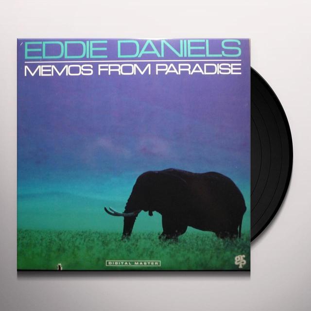 Eddie Daniels MEMOS FROM PARADISE Vinyl Record