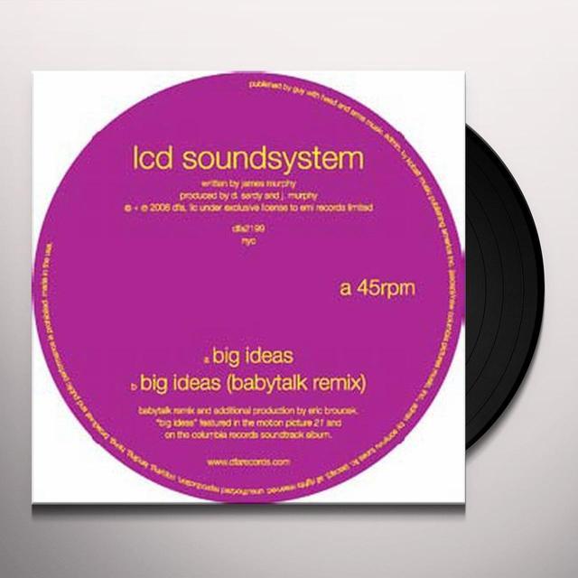 Lcd Soundsystem BIG IDEAS (Vinyl)