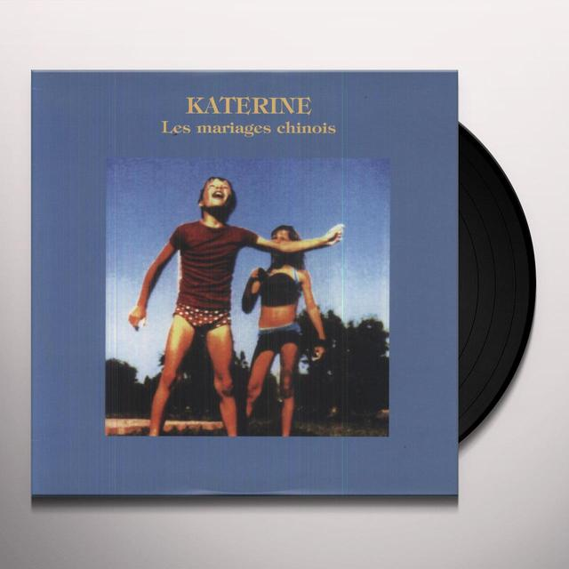 Katerine MARIAGES CHINOIS Vinyl Record
