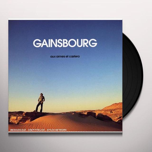 Serge Gainsbourg AUX ARMES ET CAETERA Vinyl Record