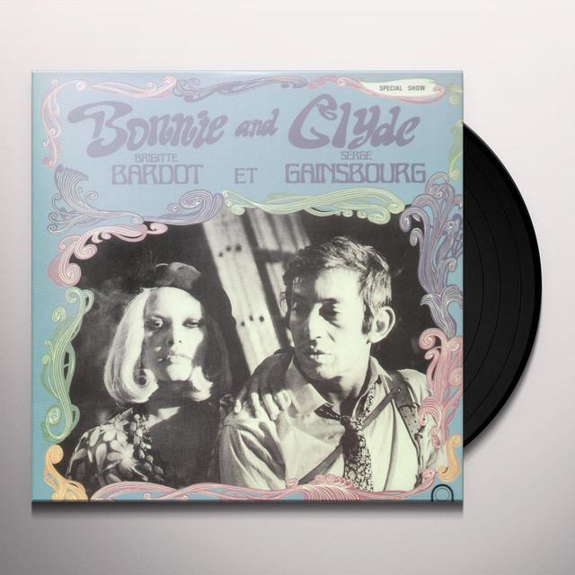 Serge Gainsbourg / Brigitte Bardot BONNIE & CLYDE Vinyl Record