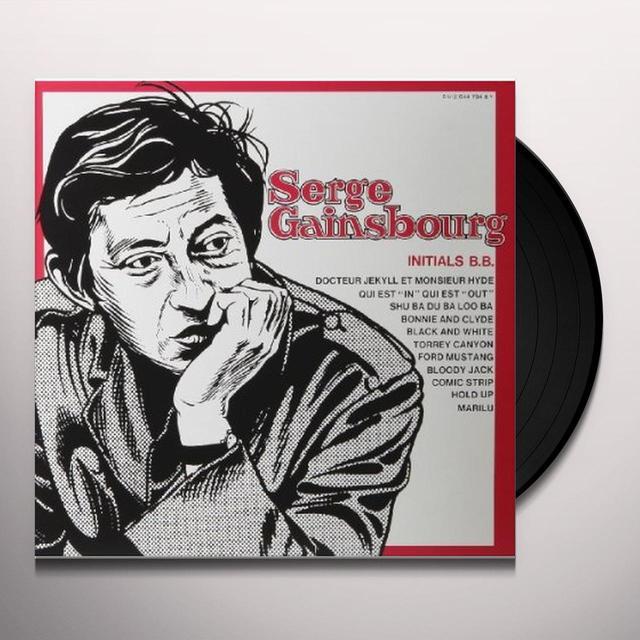 Serge Gainsbourg INTIALS B.B. Vinyl Record