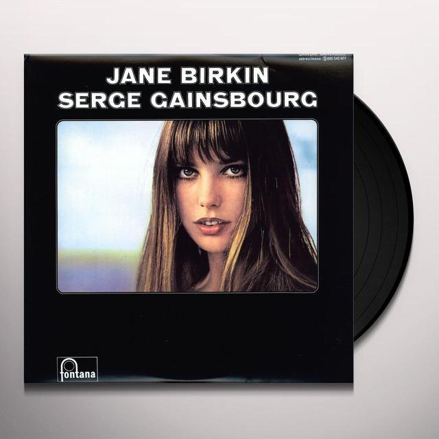 Serge Gainsbourg JE T'AIME MOI NON PLUS Vinyl Record