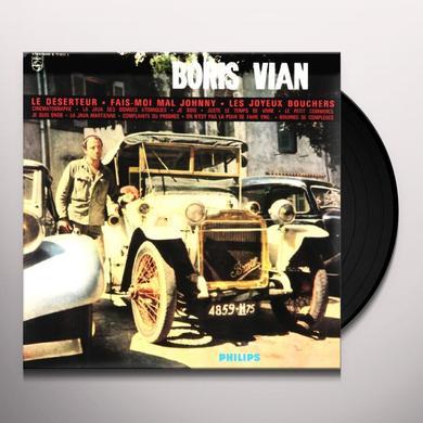 Boris Vian DESERTEUR Vinyl Record